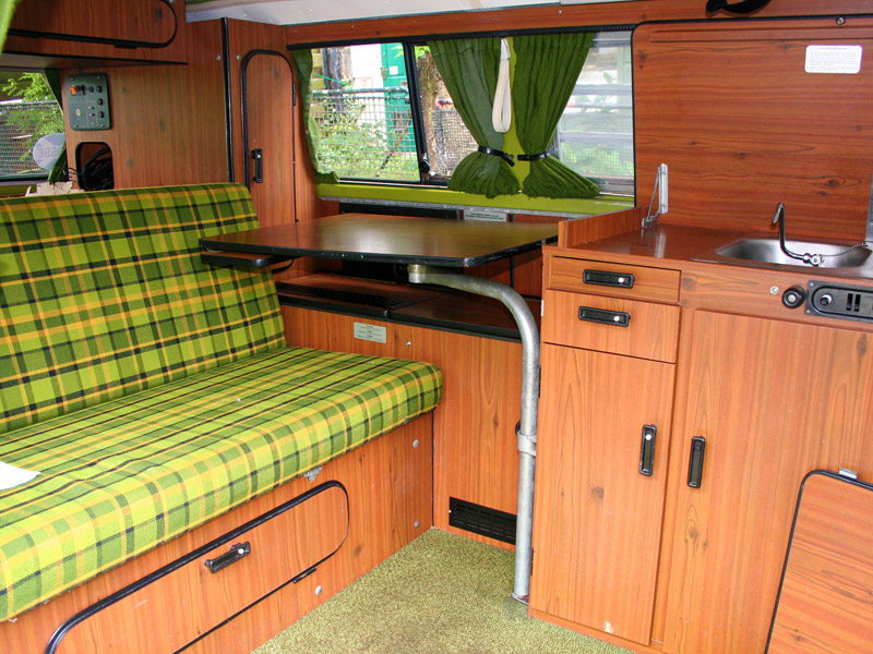 1979 westfalia berlin 2l for sale west of scotland for Interieur westfalia